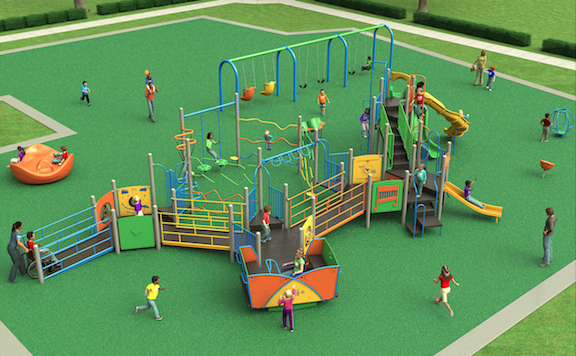 Special Needs playground in Cabot opening
