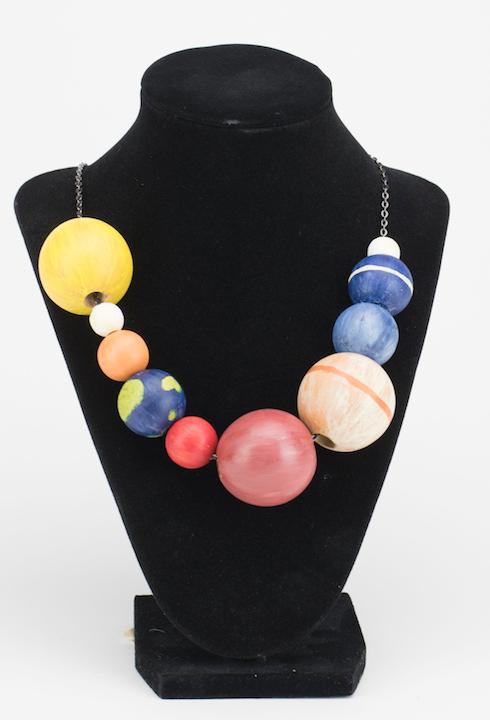 DIY Solar System Necklace