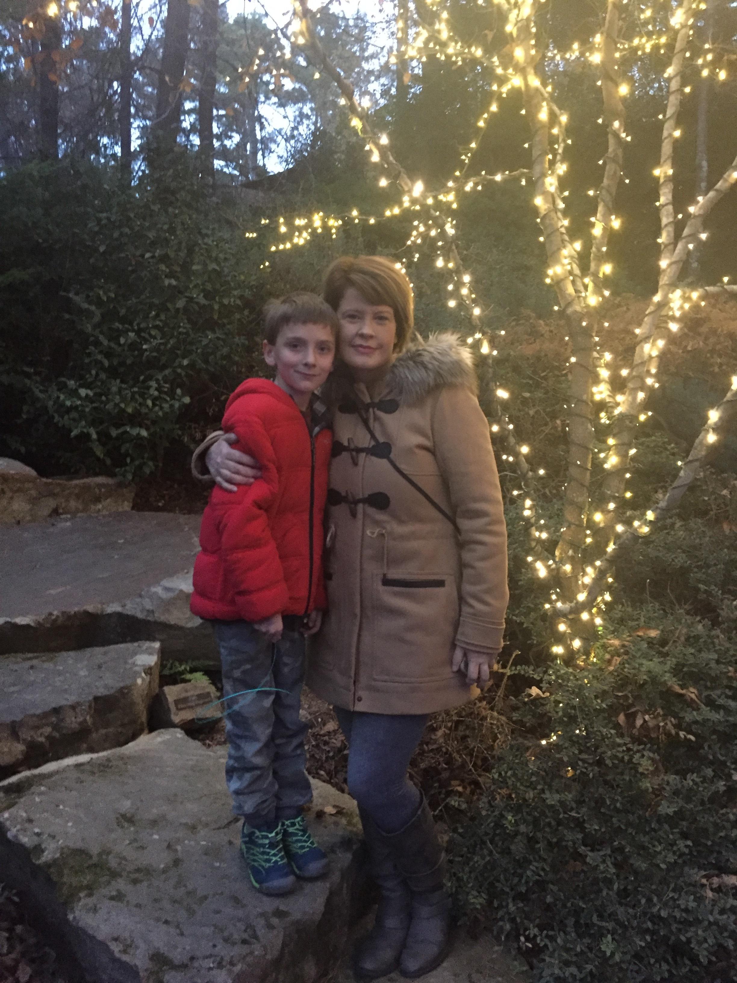 Brady and mom leah richardson