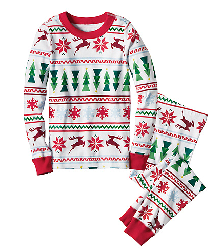 We get Christmas PJs, usually from Rhea Lana, because we wear them for only a month!
