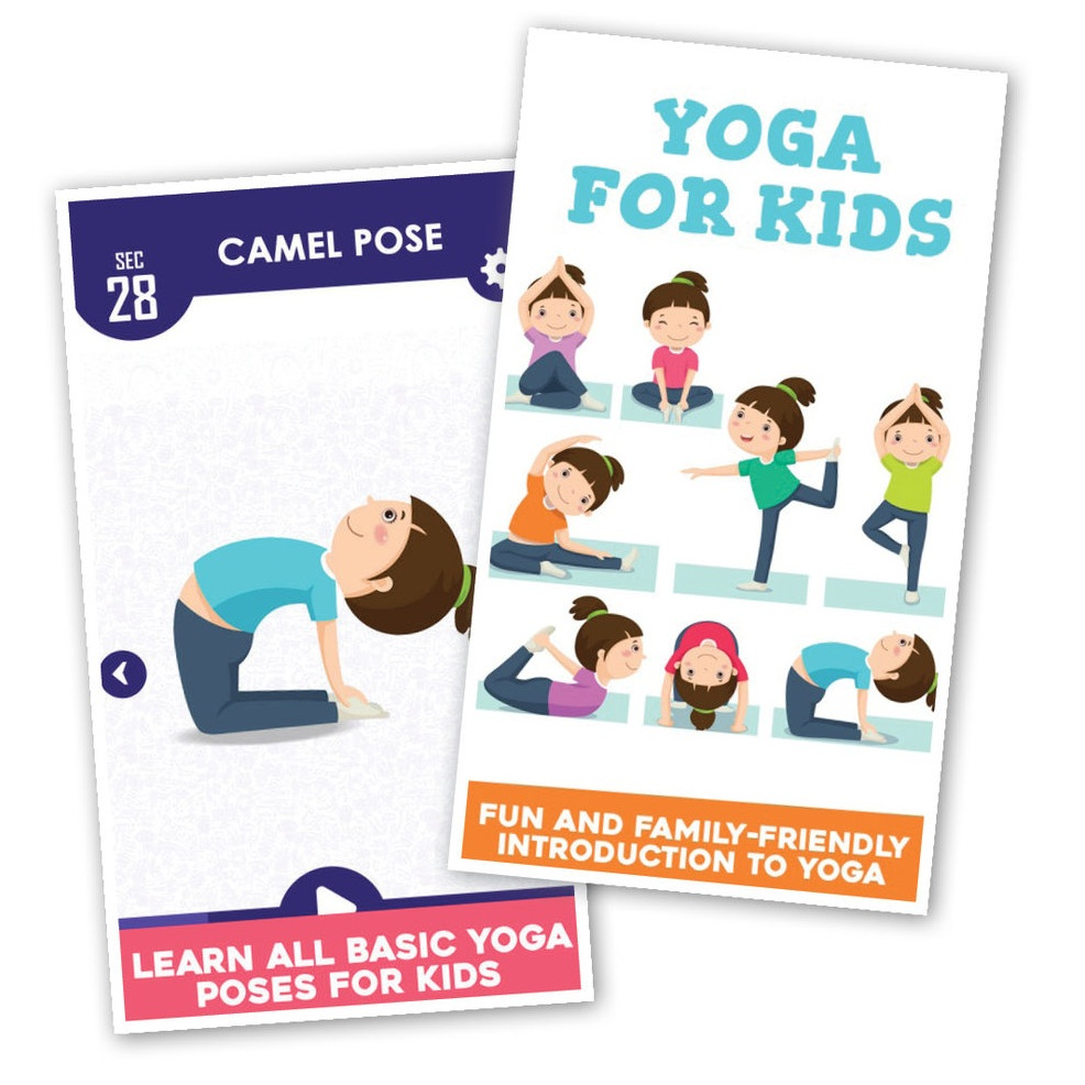 There are a bunch of meditation and yoga apps that introduce kids to breathing as a way to solve problems, calm down or think through a situation. Yoga For Kids Daily Fitness is great for learning the poses and playing with exercise.