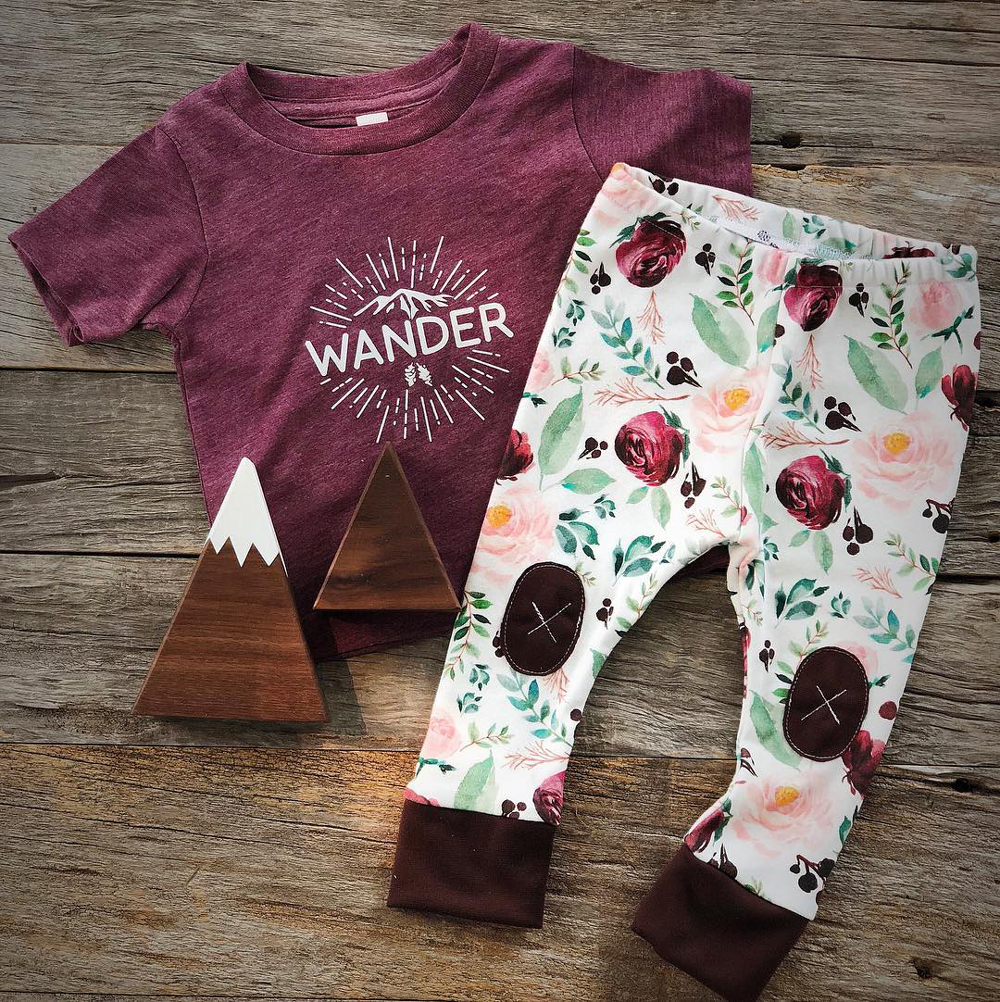 Alpine Baby Co. makes the comfiest toddler leggings and sweatshirts for cozy yoga mornings! We love cuddling up in our sweatpants for some Savasana, aka, naptime!