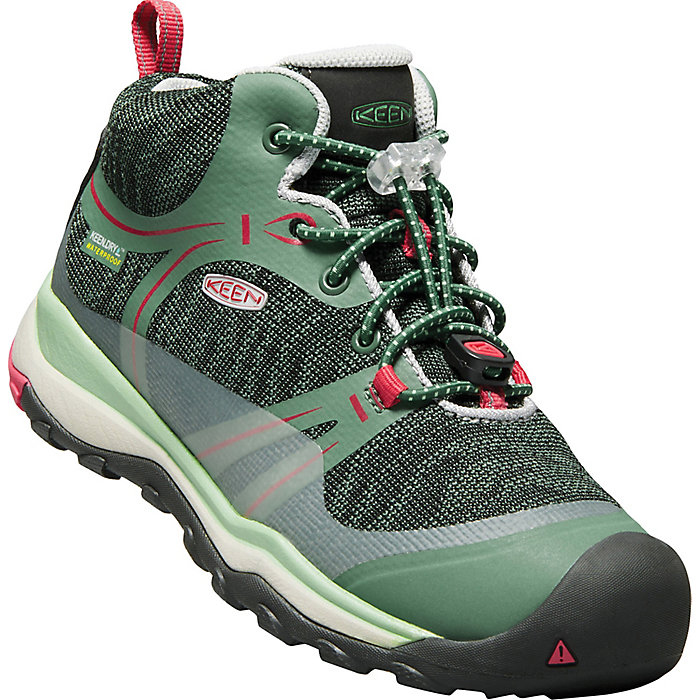 The Big Kids' Terradora Waterproof hiking boots have been our go-to since their little feet could fit in them.