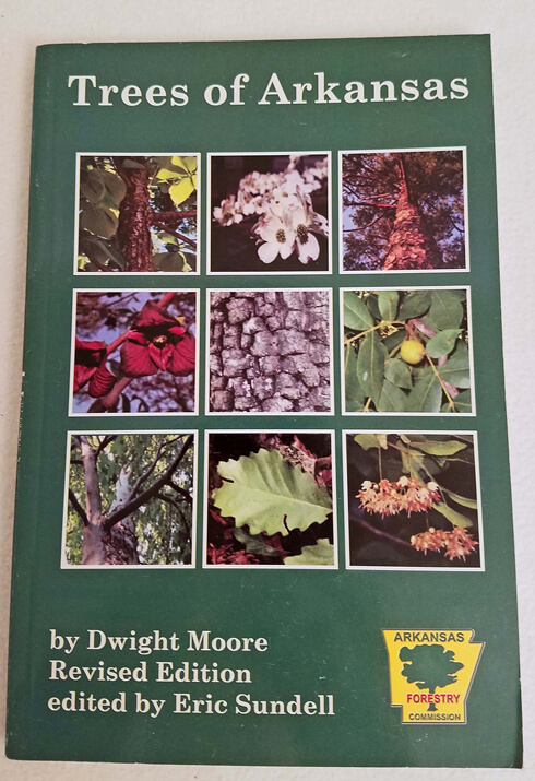 "I carry this ""Trees of Arkansas"" book, and other guides to keep the kids entertained and aware of the plants outdoors. You can pick this book up from the Arkansas Forestry Commission for around $5."