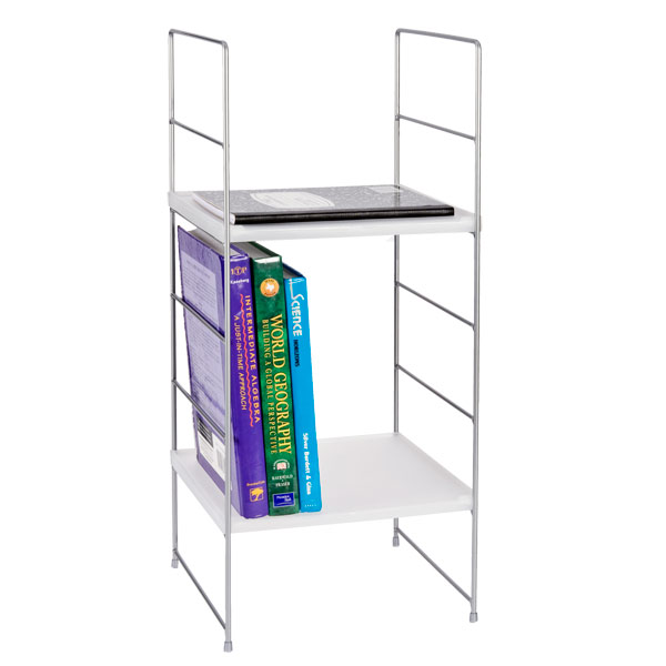 In order to utilize your locker space, this shelf will give you multiple places for your books, binders, pencils pouches, etc.