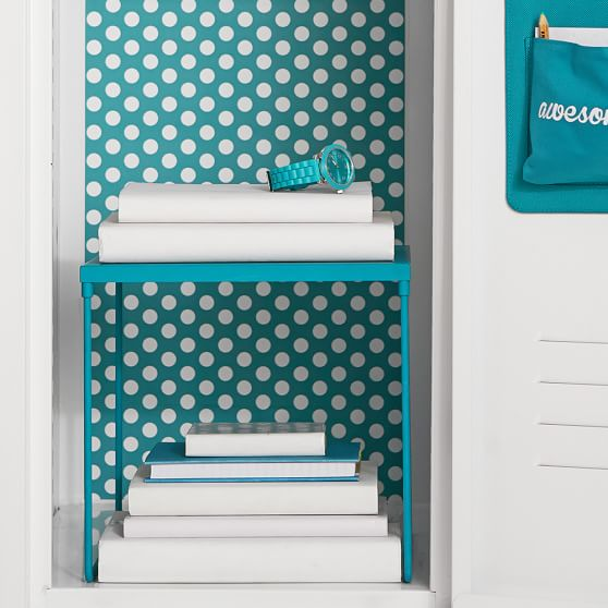 Be creative with color and design by using wallpaper in your locker to make it more personalized and fun!