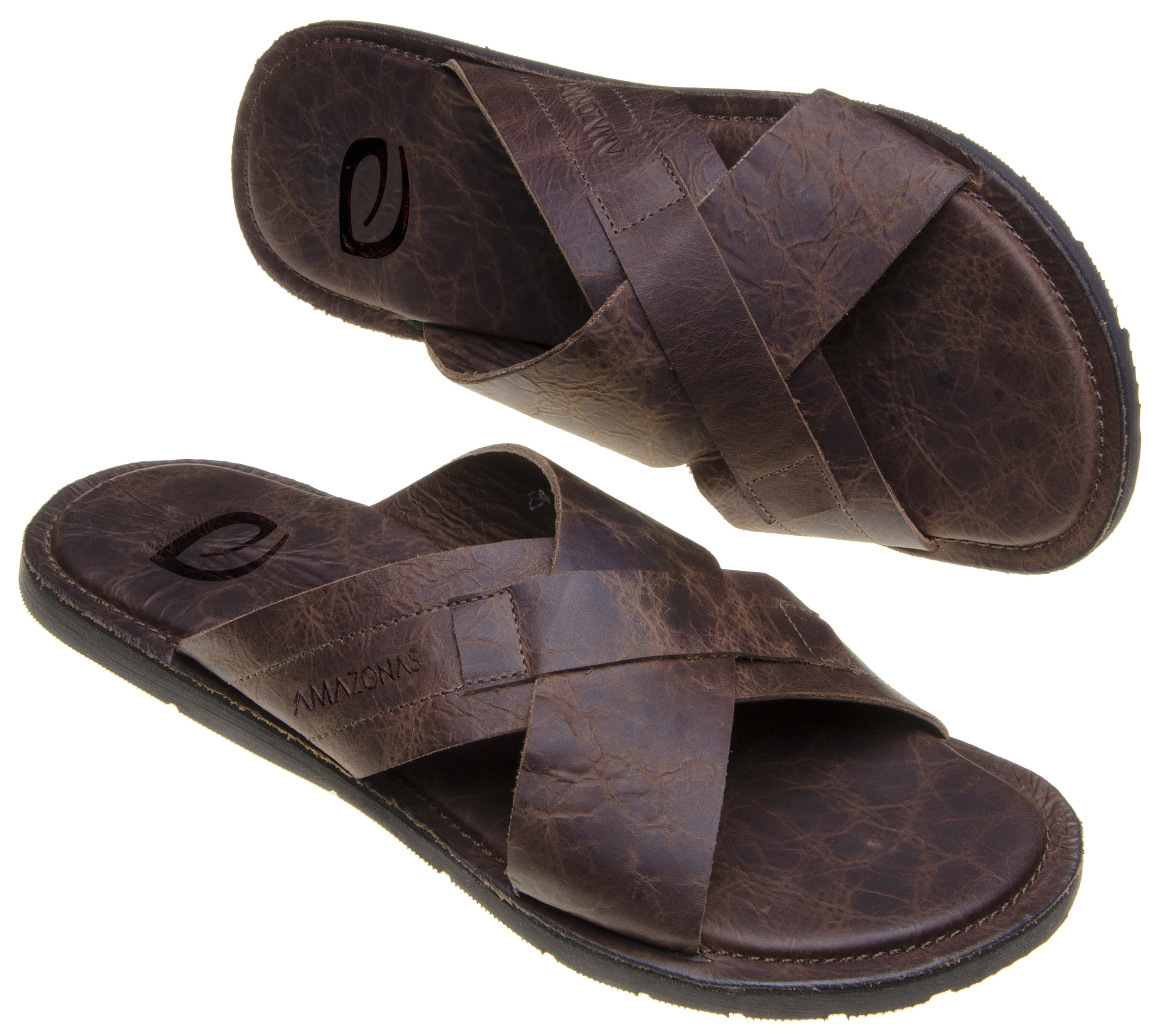 Men - Combine recycled rubber with leather to create comfort, support and style.