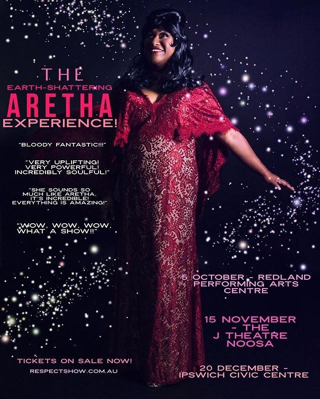 We are gearing up for the rest of our SE Queensland tour! You can grab tickets through our website! 🤩✨ #respect #respectshow #aretha #arethafranklin #queen #queenofsoul #earthshattering #storytelling #song #soul