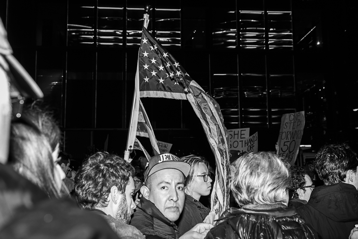 Anti Trump protest | NYC