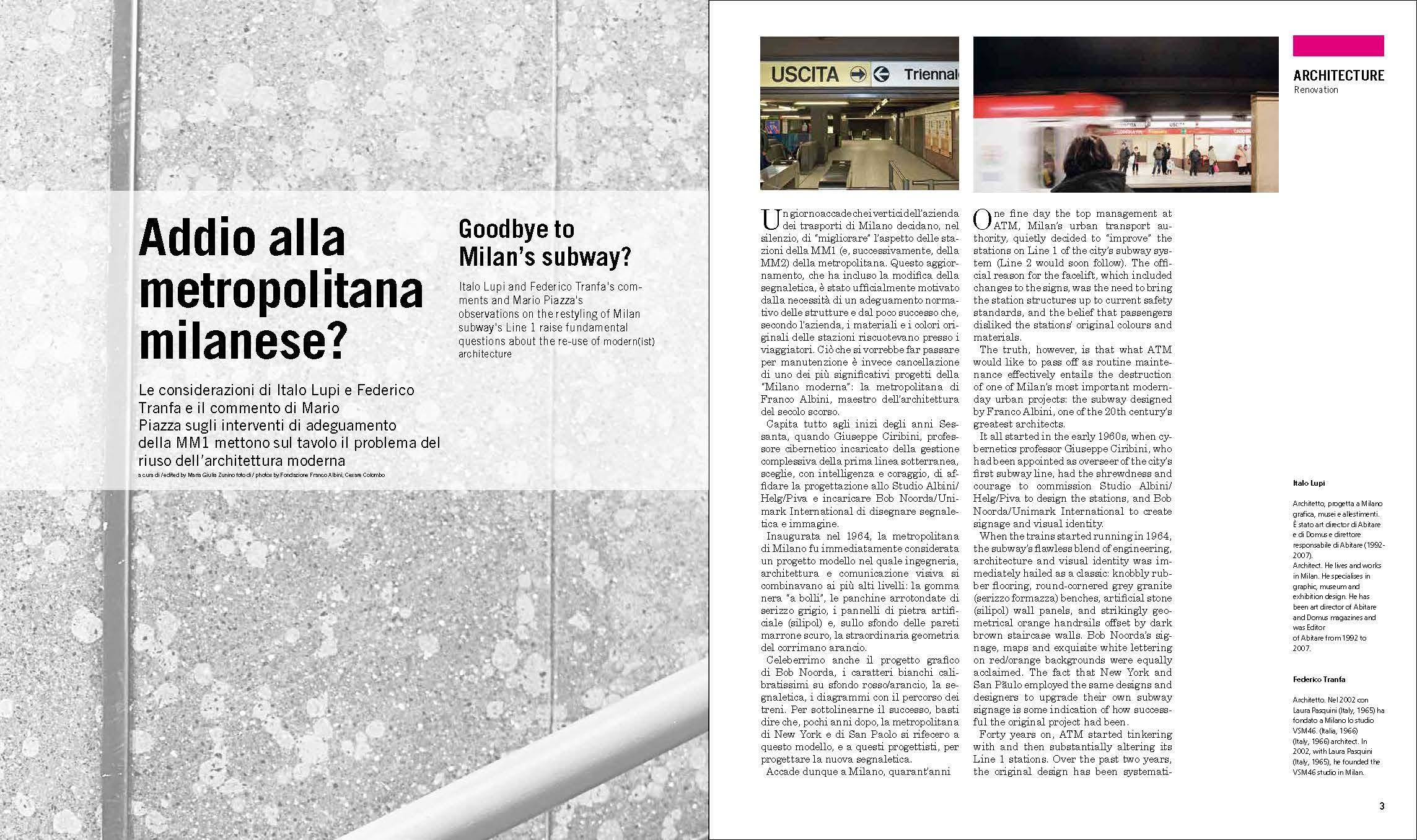 Grafica Editoriale | Interno
