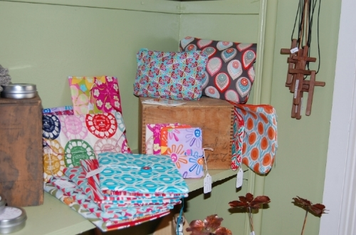 Orange Moon Studio goods for sale at Greene Street Market