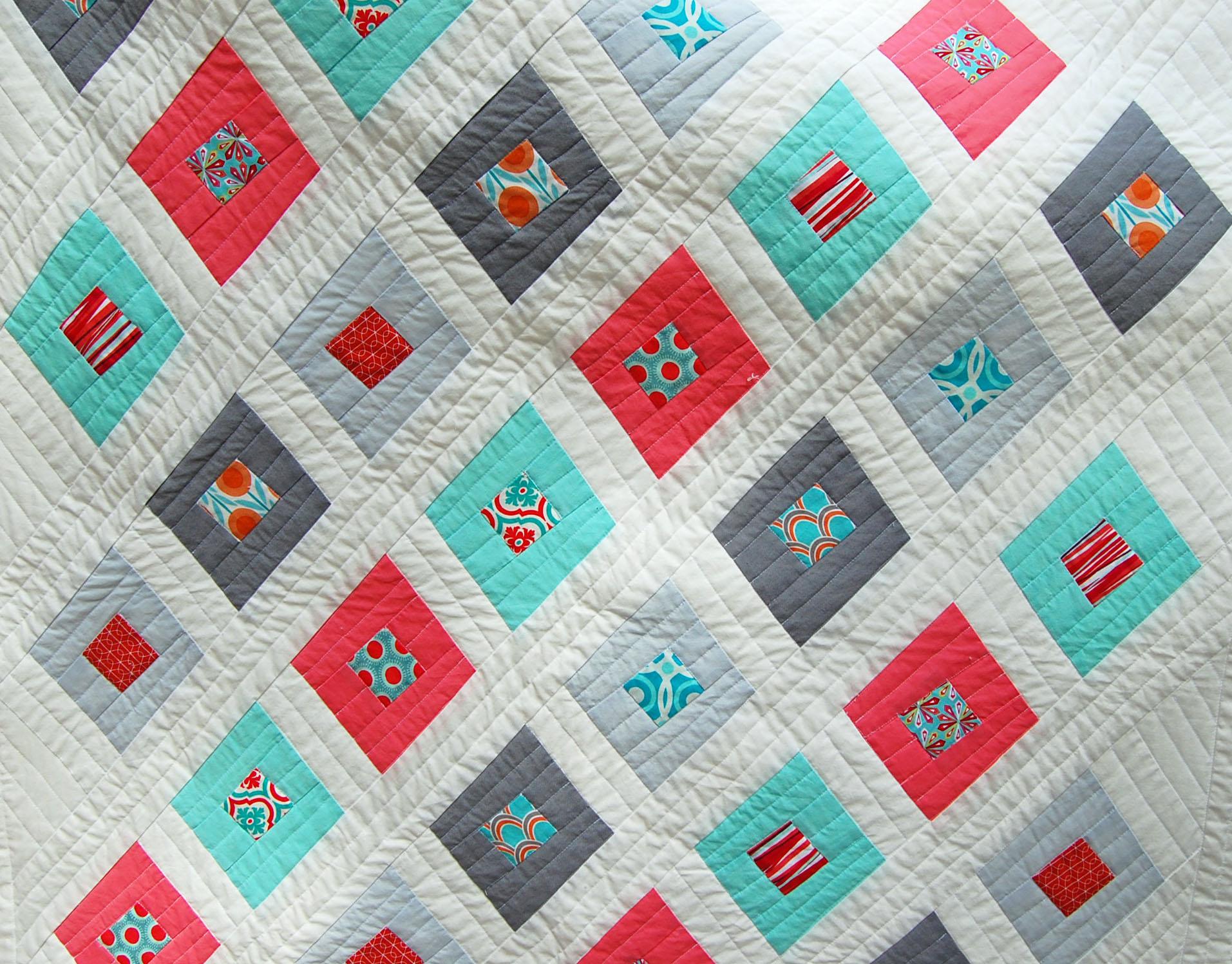 Wonky Diamond Quilt