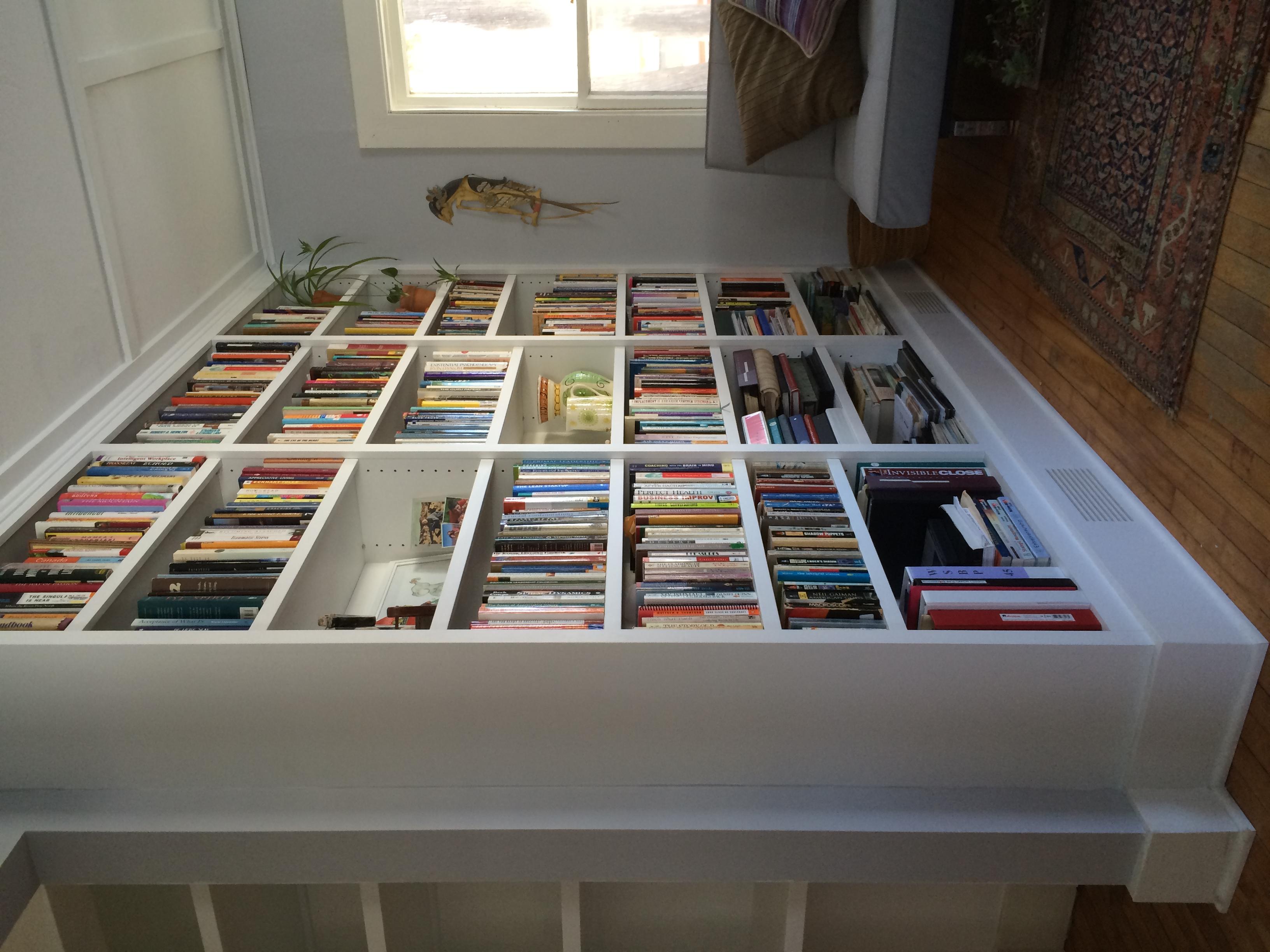 Custom Library Bookshelves
