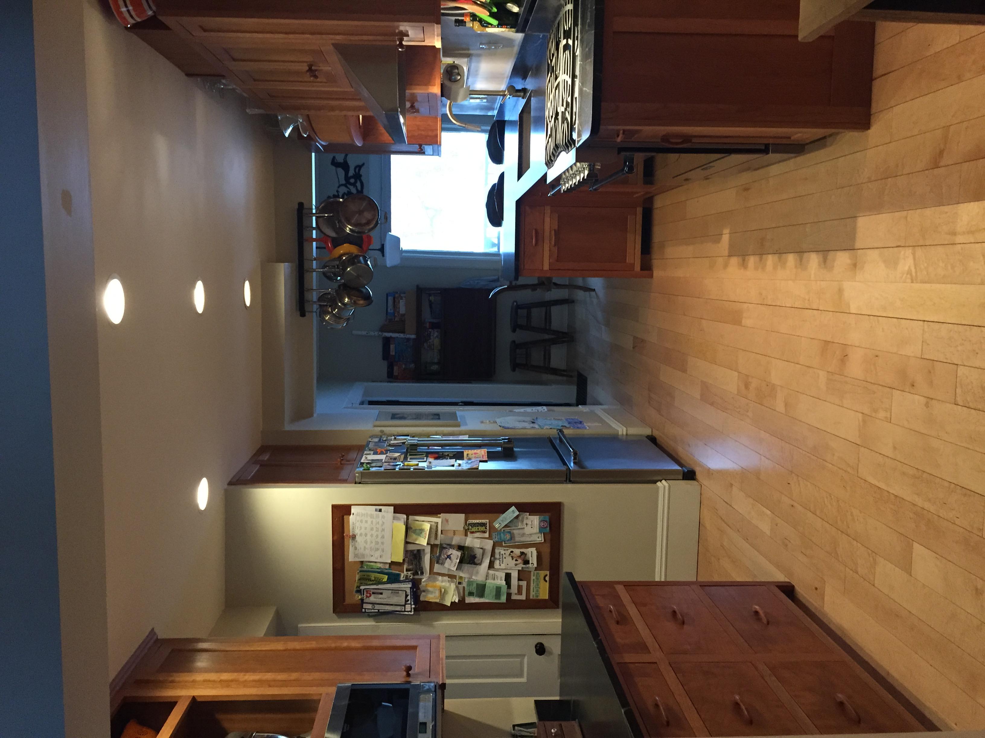 Inset Cherry Kitchen--Full View