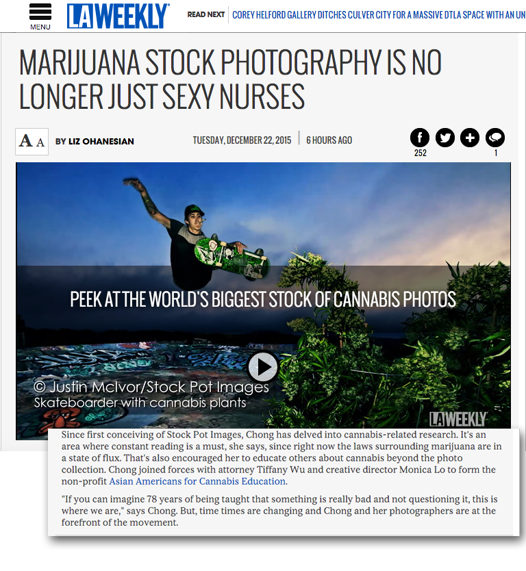 Stock Pot Images in LA Weekly