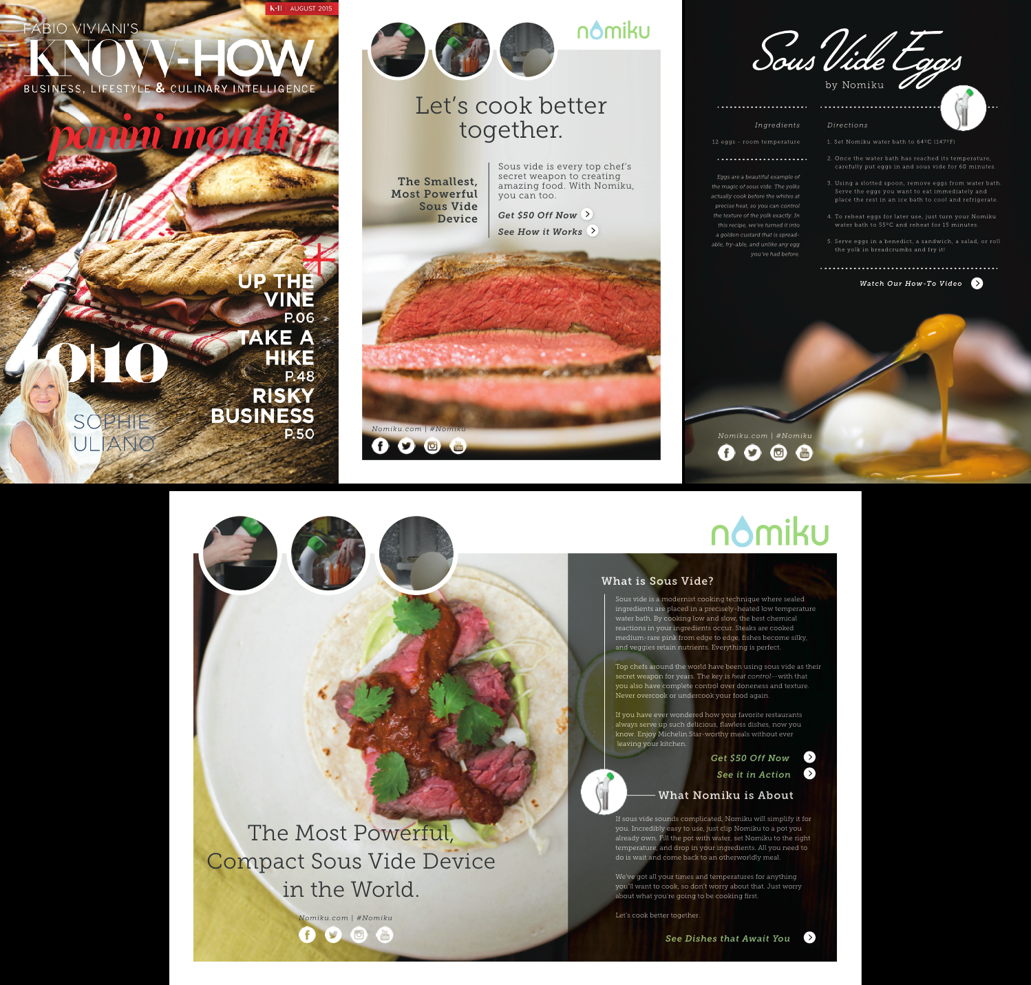 Featured on Fabio Viviani's KNOW-HOW