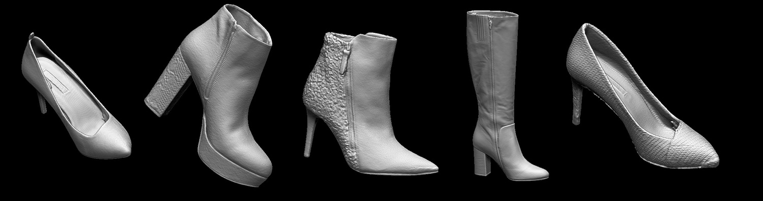 3D scan & retouch result.