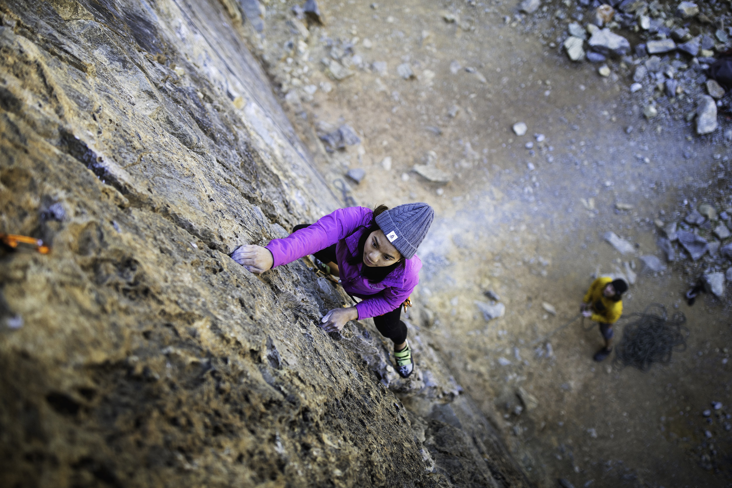 ON THE WALL - a climber's eyes