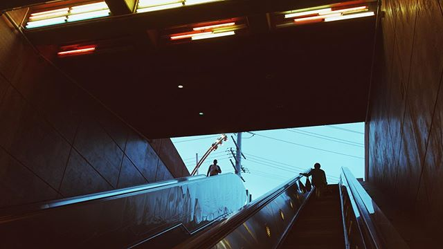 LA Underground - One of my favorite parts of E3 week is having an excuse to explore the subway here. #bladerunner #dtla #underground #e3
