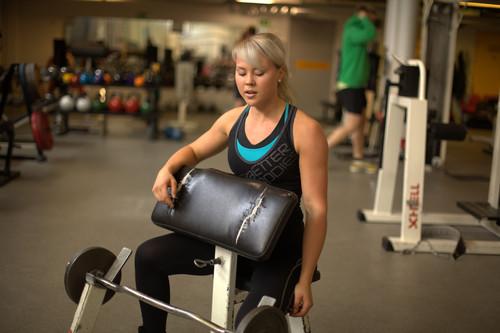 Helena Kinnunen and acute training fatigue