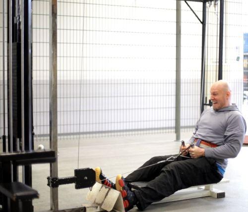 Markus Mäntynen pursuing muscle soreness