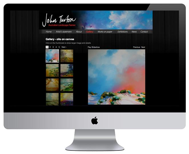 John Turton – Oils on canvas gallery page