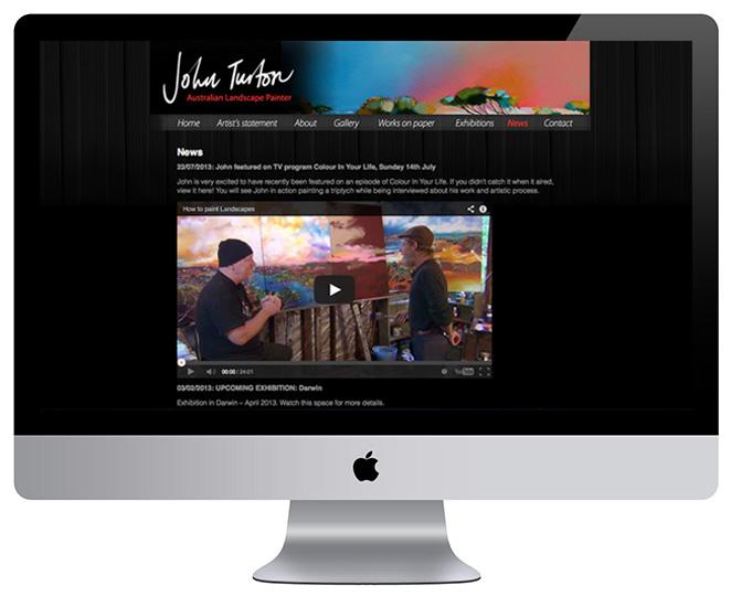 John Turton – News page
