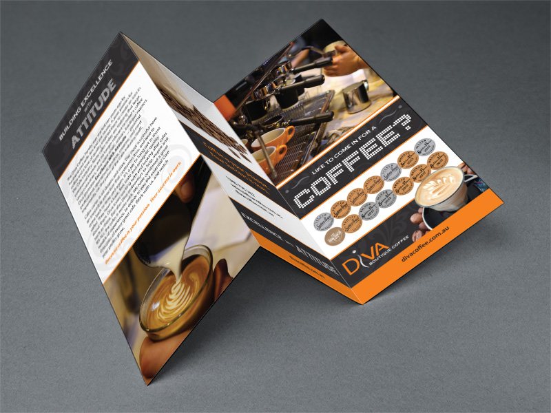 DL tri-fold brochure. (Designed as a subcontractor).