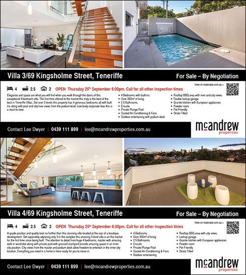 Press ad – full page Brisbane News