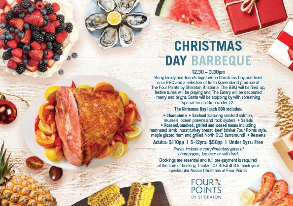 Christmas creative for menu & advertising