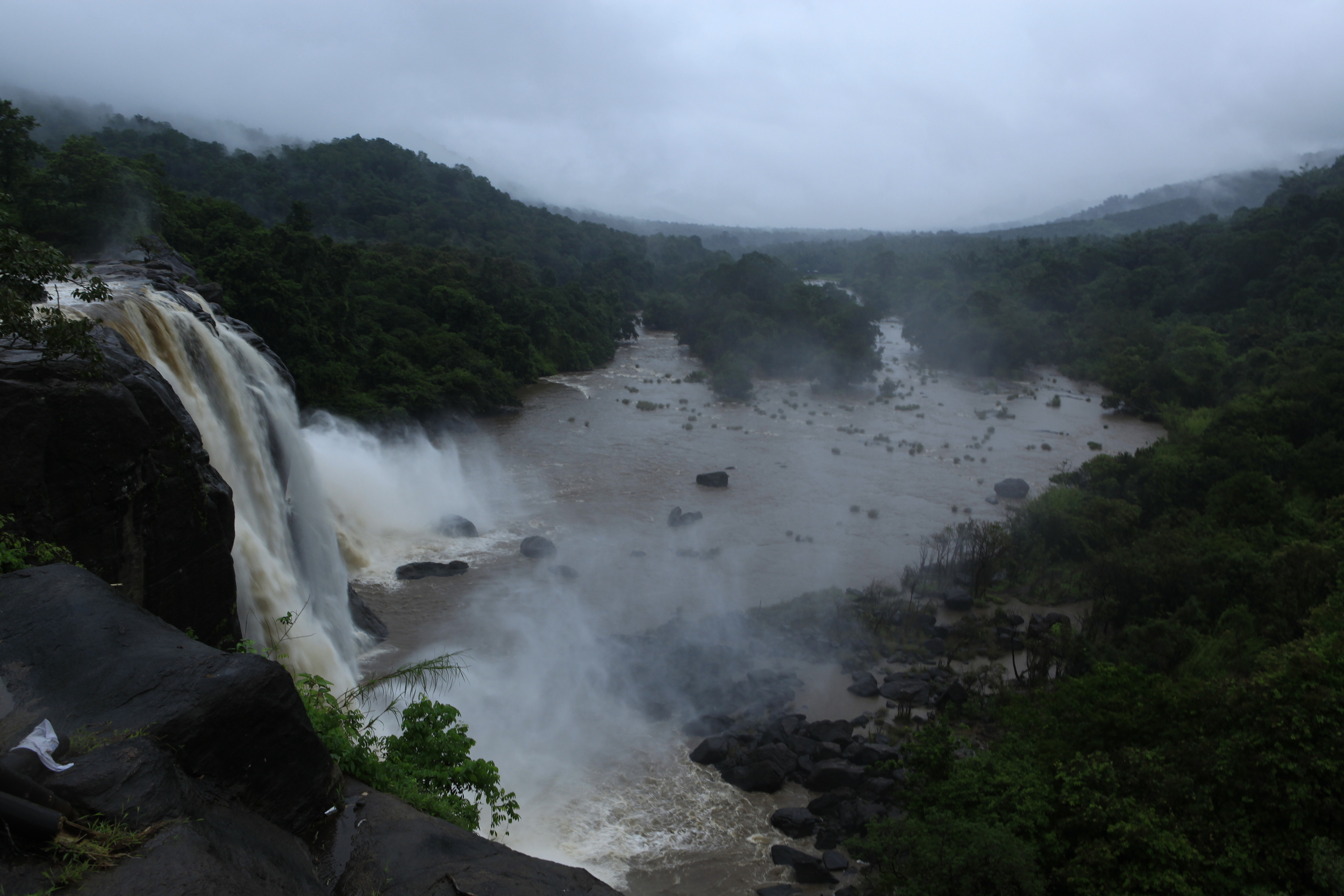 Athirampally Water Falls=Cochin To Athirampally 45 Kms (8).JPG