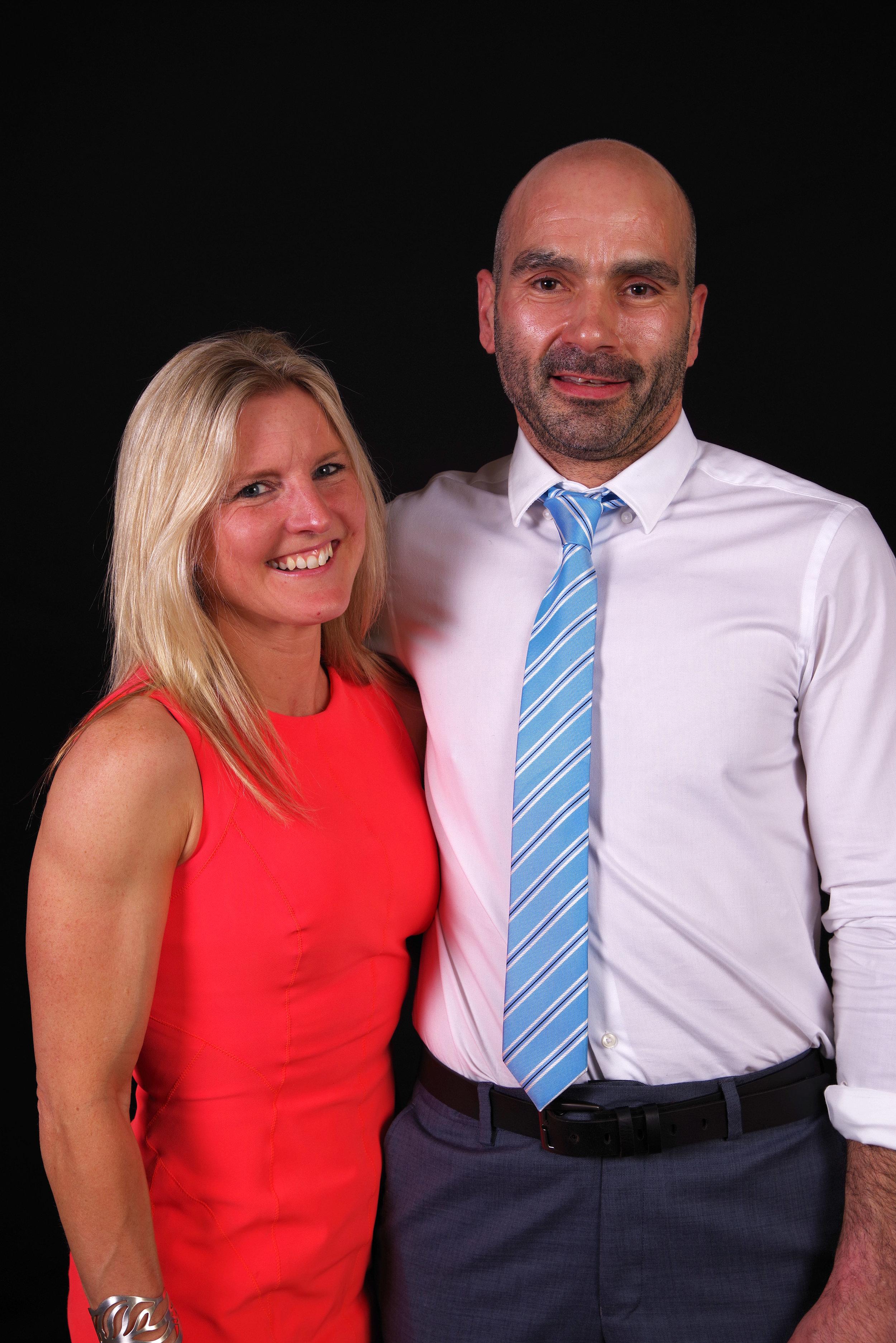 Tanya Blake & Mark Pigford - Coaches Extraordinaire