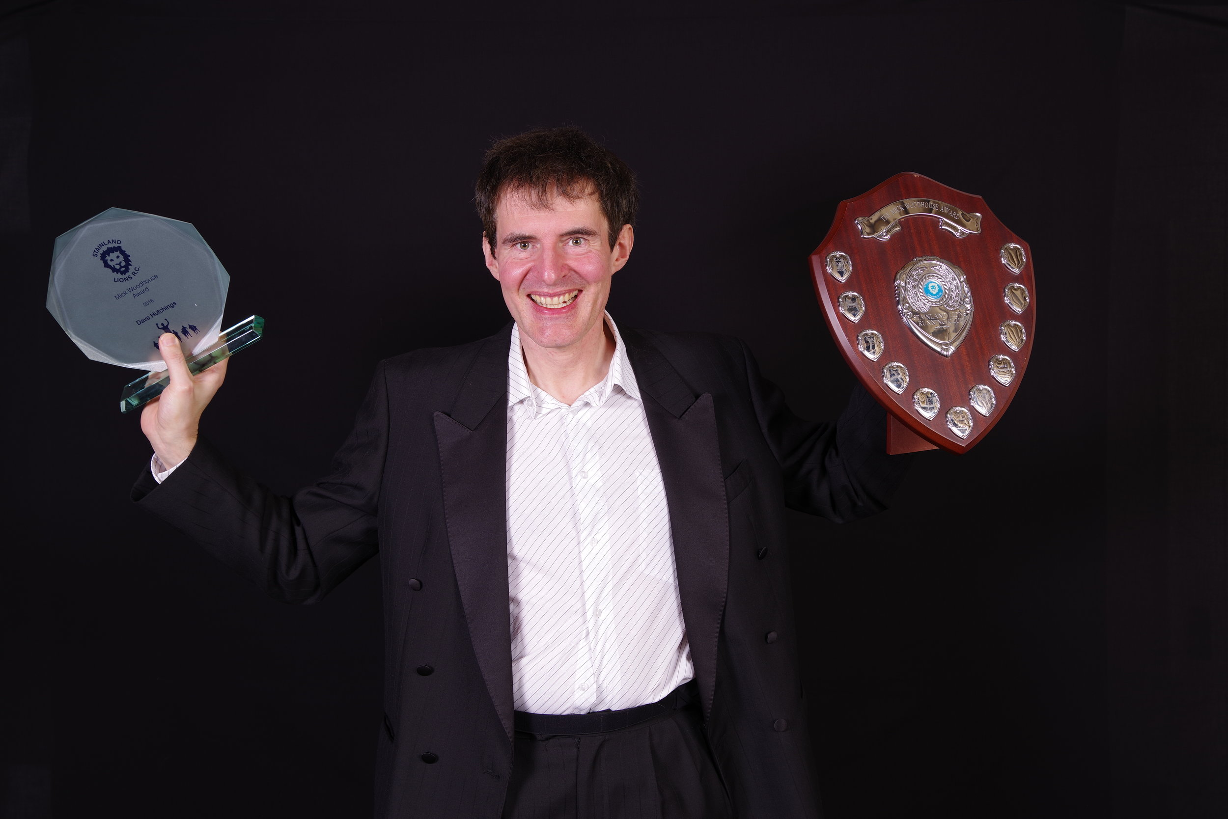Dave Hutchings - The Mick Woodhouse Award