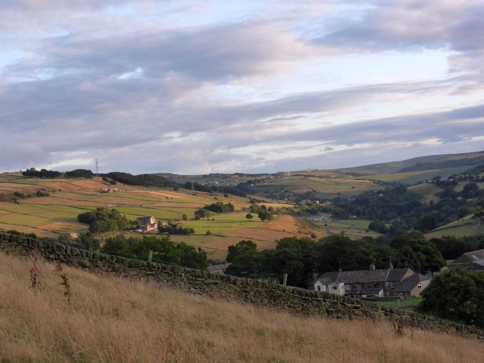 The view of Stainland Dean, Photo by David Culpan