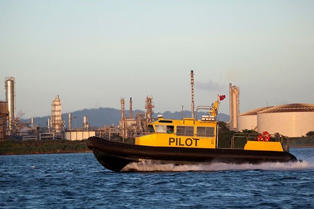Pilot boat in the Gulf of Paria #energychamber #energynow #pointlisas