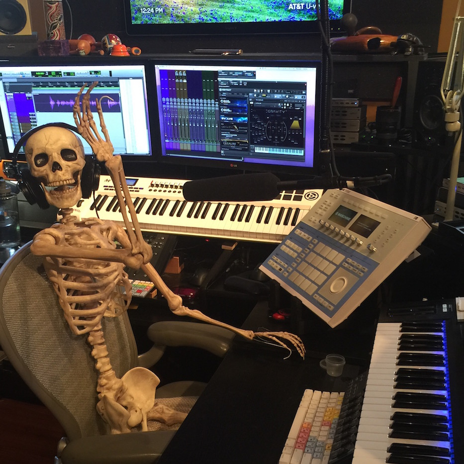 Voice acting and sound design is in my bones!