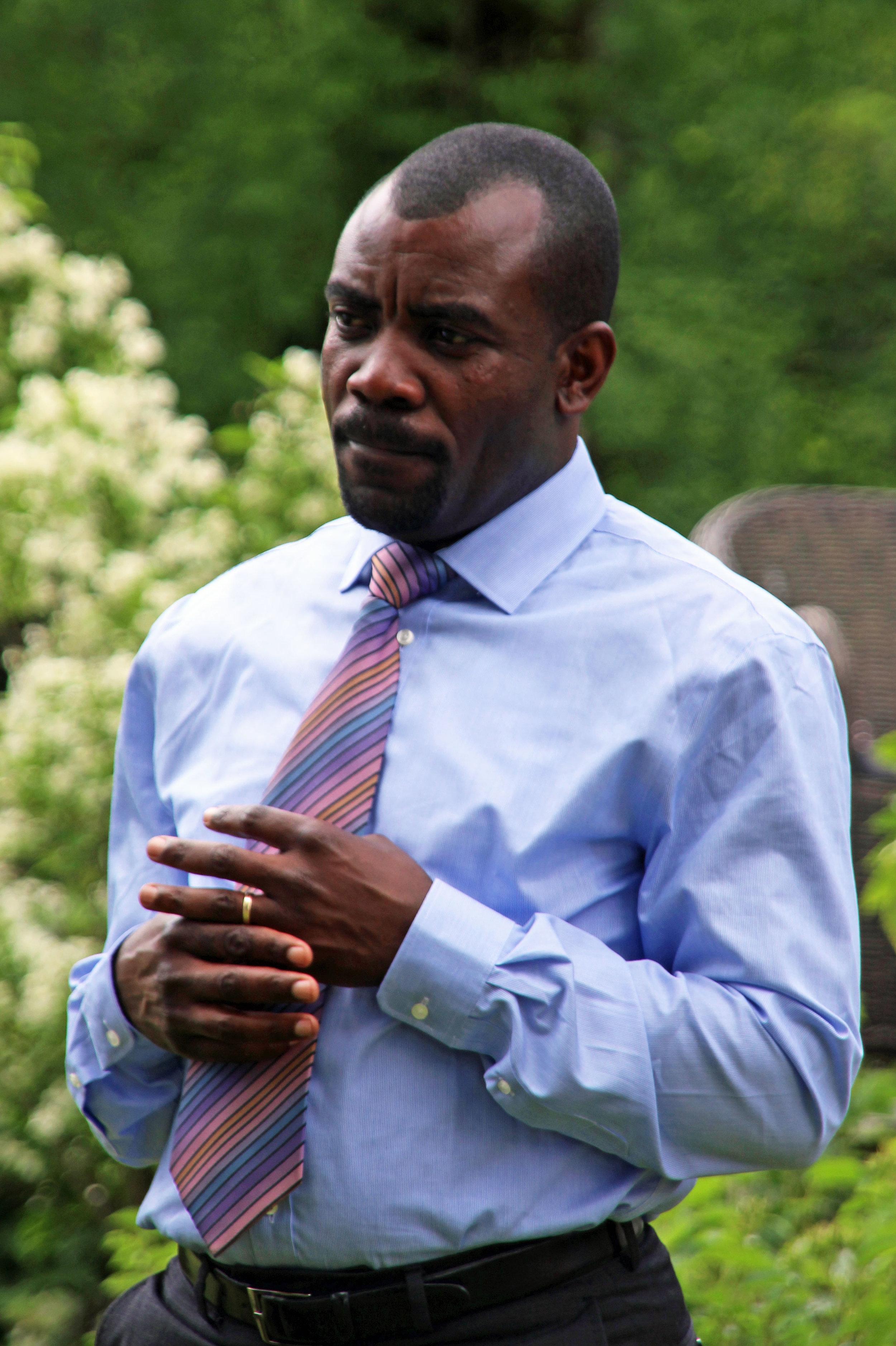 Pastor og menneskerettsforkjemper Kubisa Muzenende