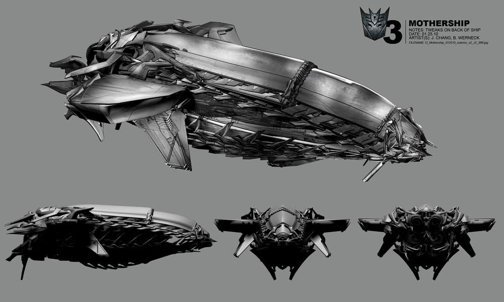 Transformers Concept Art Bruno Werneck