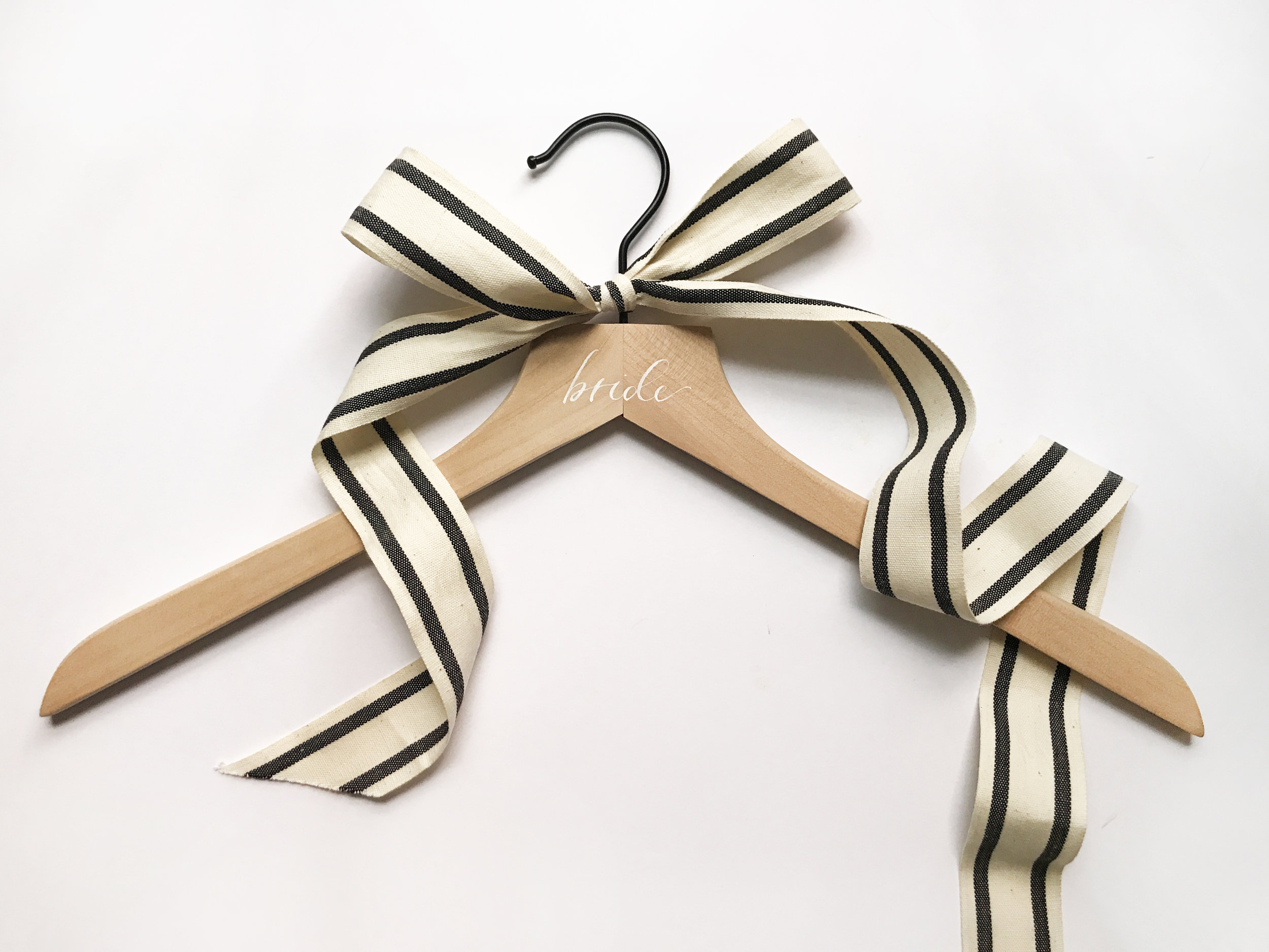 calligraphy wood hanger