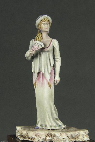 Napoleonic Lady in Ballroom Dress -Noel Meyer