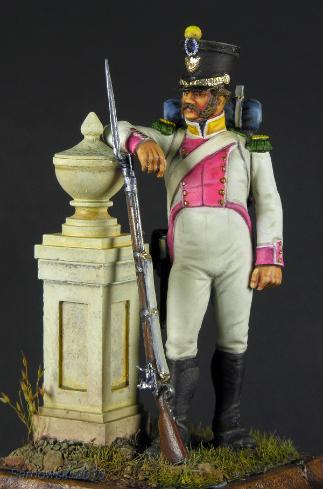 Army of Naples Voltigeur 8th Regt. Mike Cobb