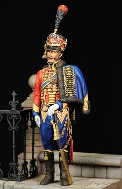 Capt 6th Hussars Joe Furioso
