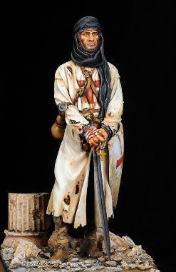 Crusader Monk 1250 AD Lee Williams