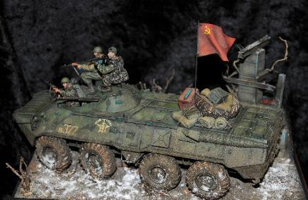Firefight Chechnya 1993 Andy Gulden