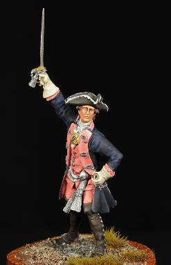 Prussian Officer Frederick The Great Mike Cobb