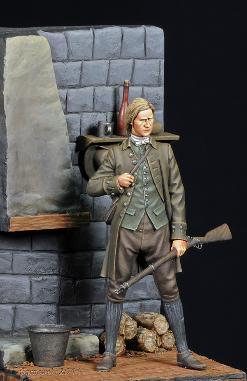 Rev War Militiaman David Hood