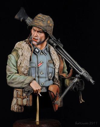 SS Machine Gunner Andy Gulden