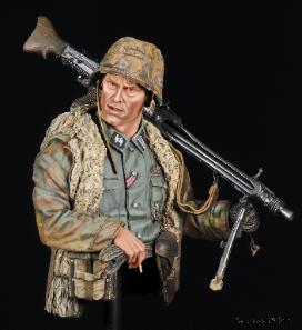 SS Machine Gunner MG42 Matt Wellhouser