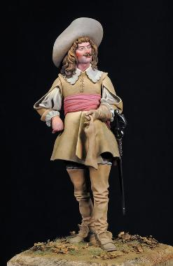 The Musketeer Mike Blank