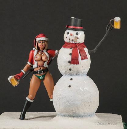 A Frosty Christmas Joe Furioso Fantasy Open Silver